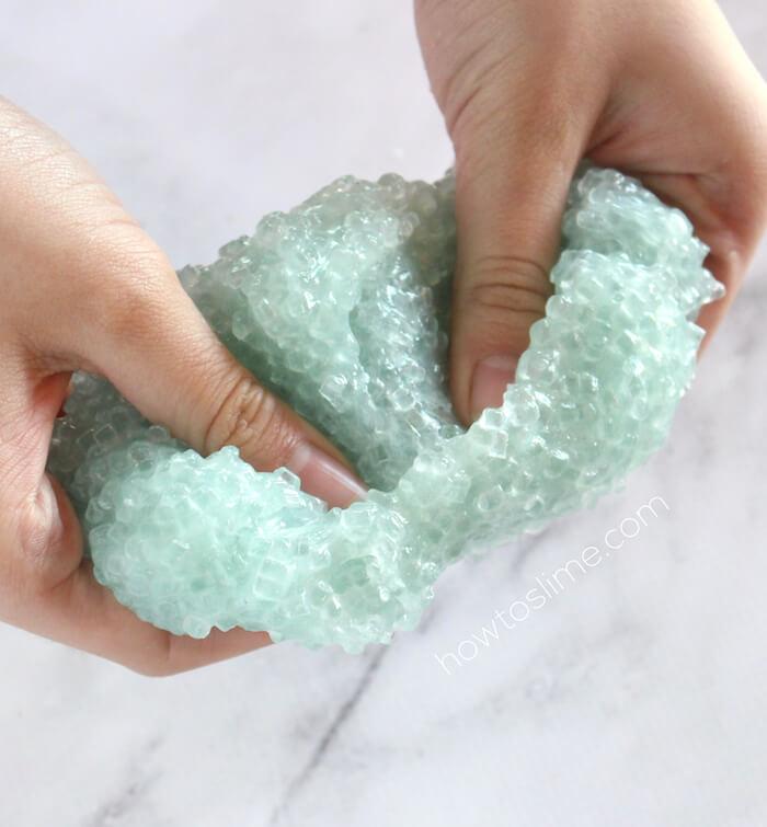 How To Make Crunchy Slushie Slime Recipe