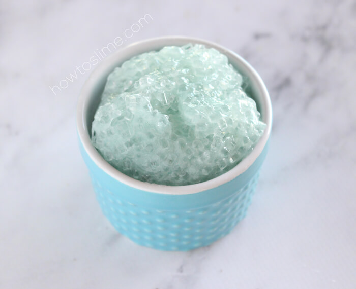 Crunchy Slushie Slime Recipe