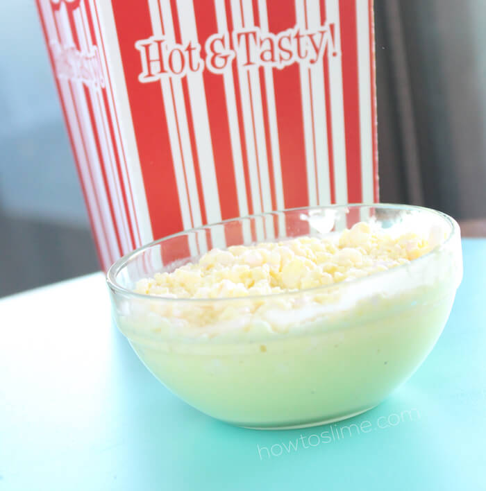 Buttered Popcorn Slime Recipe
