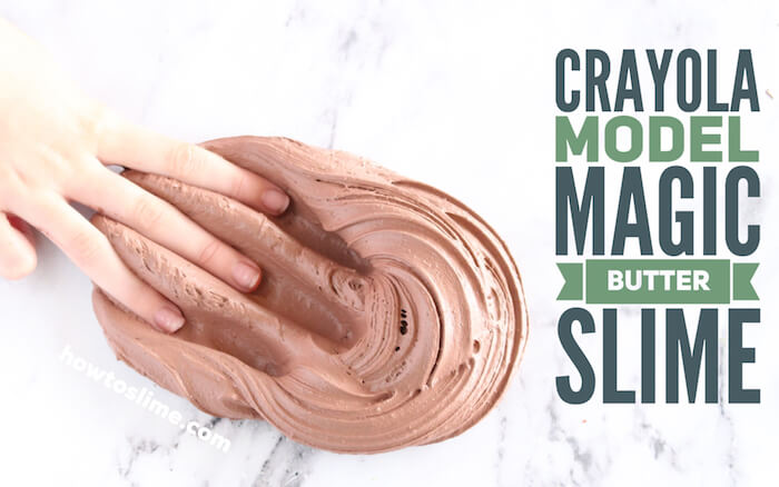 Butter Slime Recipe with Crayola Model Magic