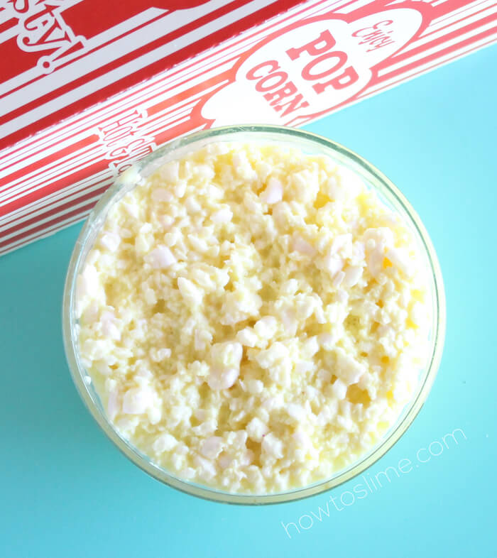 How to Make Buttered Popcorn Slime without borax