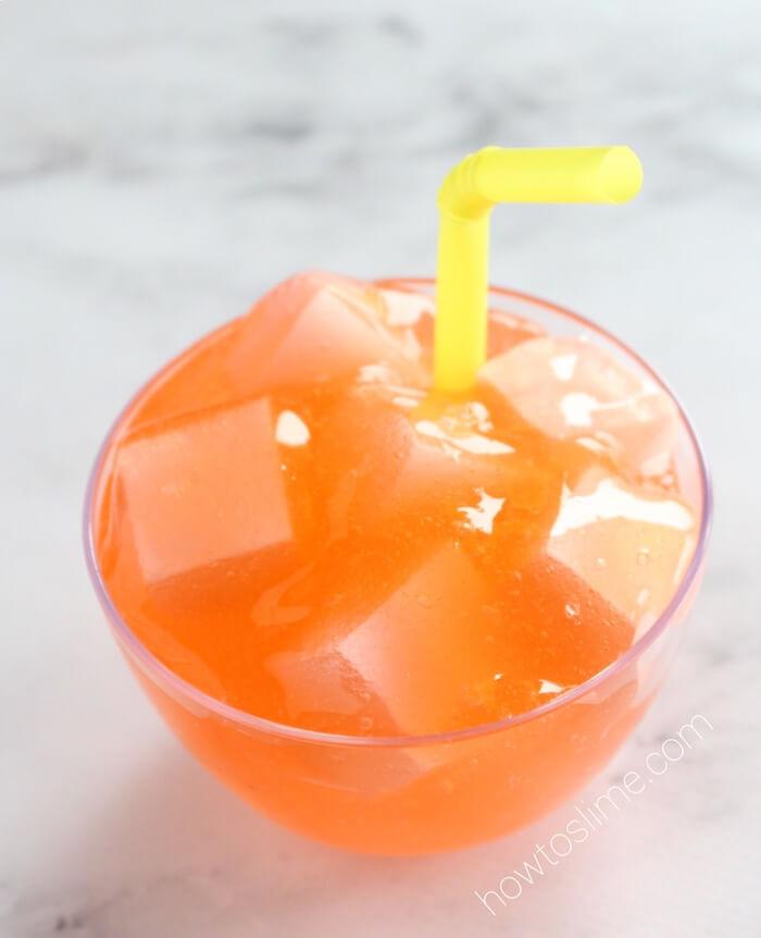 Orange Soda Slime